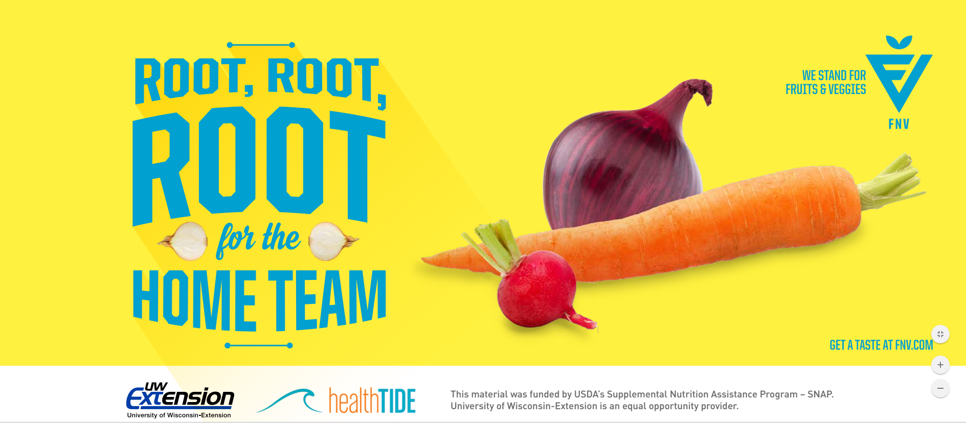 root, root, root for the home team with root veggies