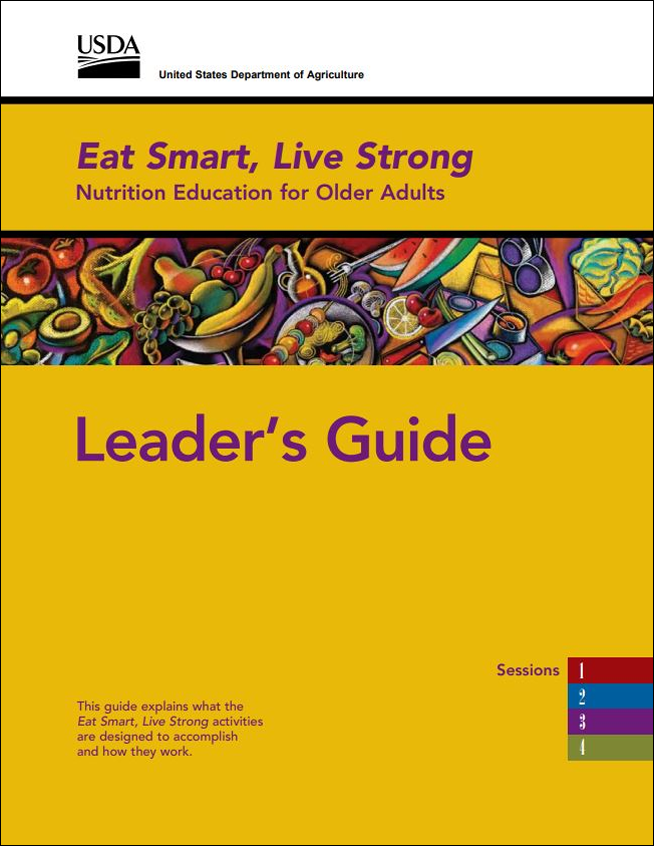 eat smart  live strong  nutrition education for older