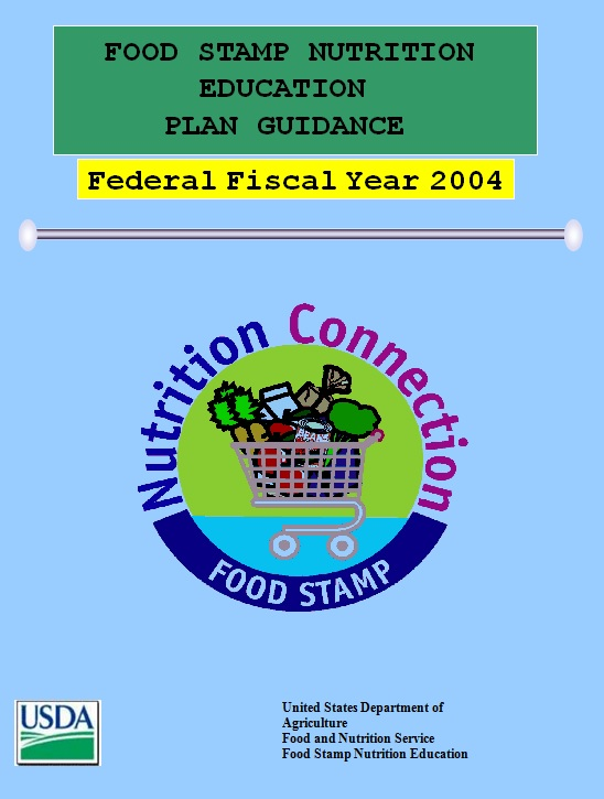 Fy 2004 Food Stamp Nutrition Education Plan Guidance Snap Ed