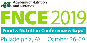 Academy of Nutrition and Dietetics Food & Nutrition Conference & Expo Philadelphia, PA October 26-19