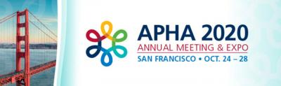 American Public Health Association Annual Meeting & Expo 2020 logo
