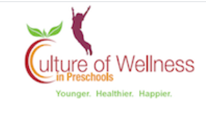 Culture of wellness in preschools younger, healthier, happier with an image of a person jumping