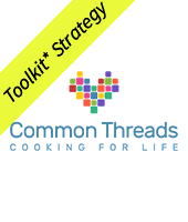 Common threads cooking for life with Toolkit stragegy banner