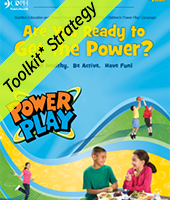 Are you ready to get the power? Power Play cover page with toolkit strategy banner