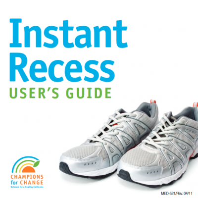 thumbnail of Instant Recess DVD and Users Guide