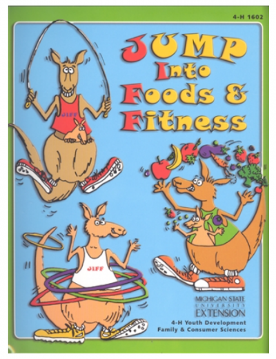 Jump into Foods and Fitness curriculum cover