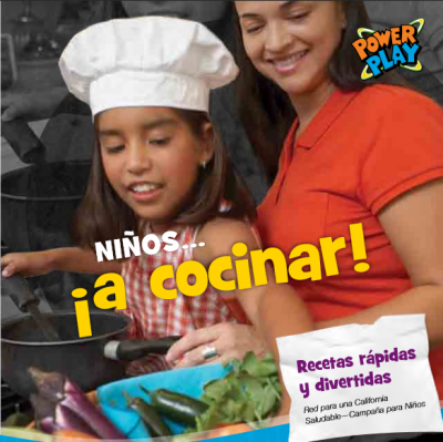 Kids...Get Cookin'! Fast and Fun Recipes - Spanish cover