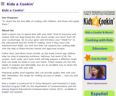 Kids a Cookin'