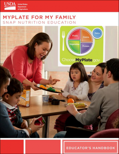 MyPlate for My Family cover