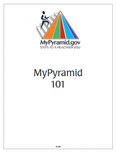 thumbnail of MyPyramid 101