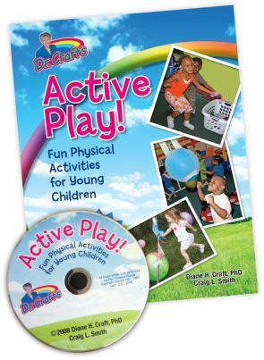 A booke and  CD with the words Active Play!
