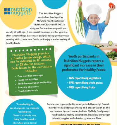 Nutrition Nuggets fact sheet