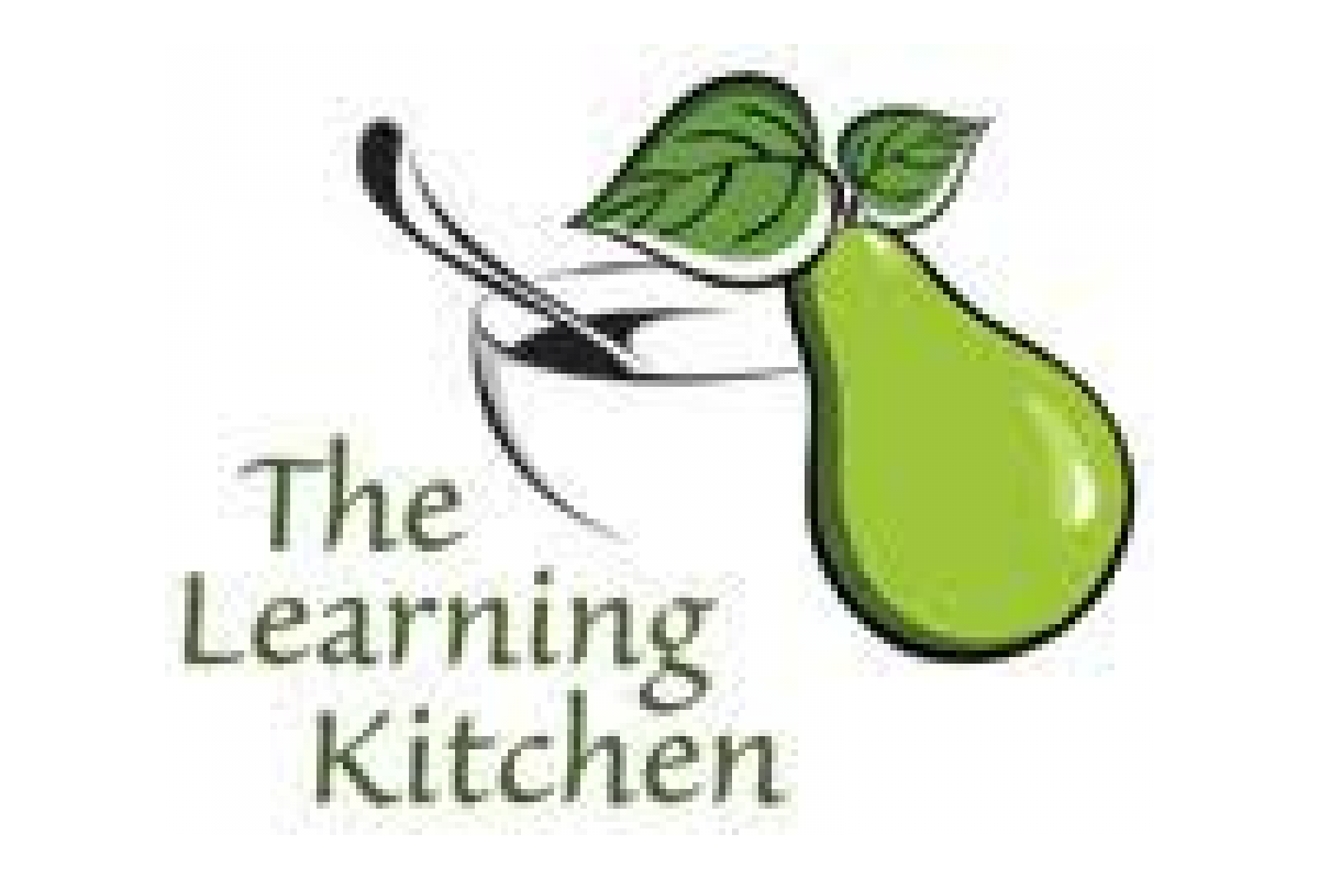The Learning Kitchen program logo: Pear with a Bowl