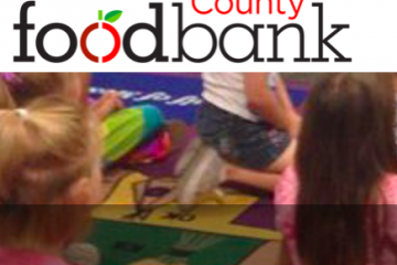 Montgomery County food bank Nutrition education program screen shot of website