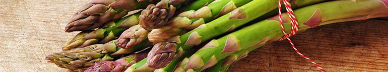 a bunch of asparagus