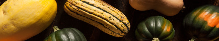 variety of winter squash