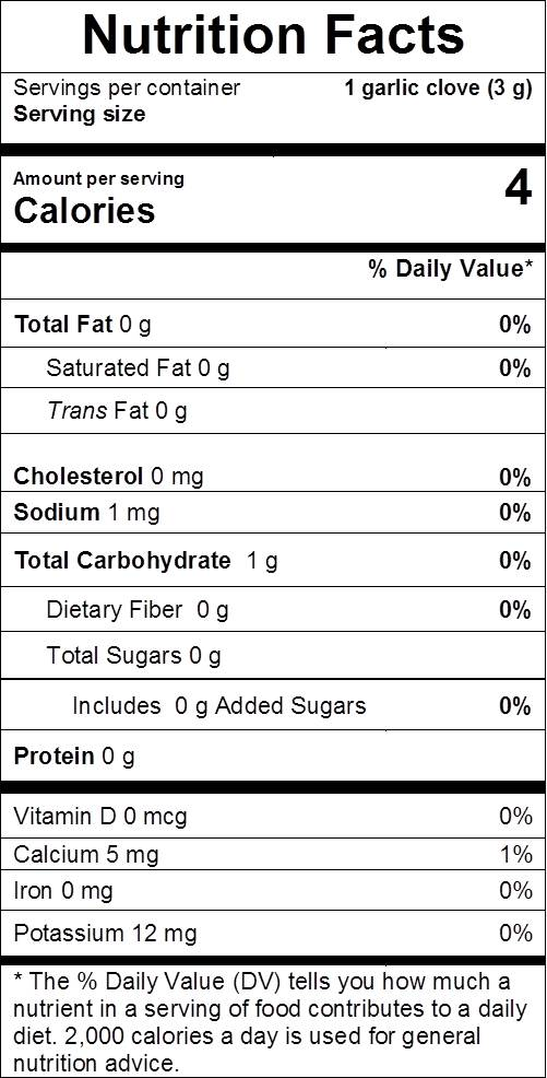 "<img src ""Image result for garlic nutrition facts.jpg"" alt =""foods to eat and lose weight""/>"