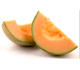 picture of a cantaloupe cut into large wedges